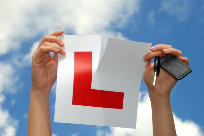 Driving tests have been cancelled