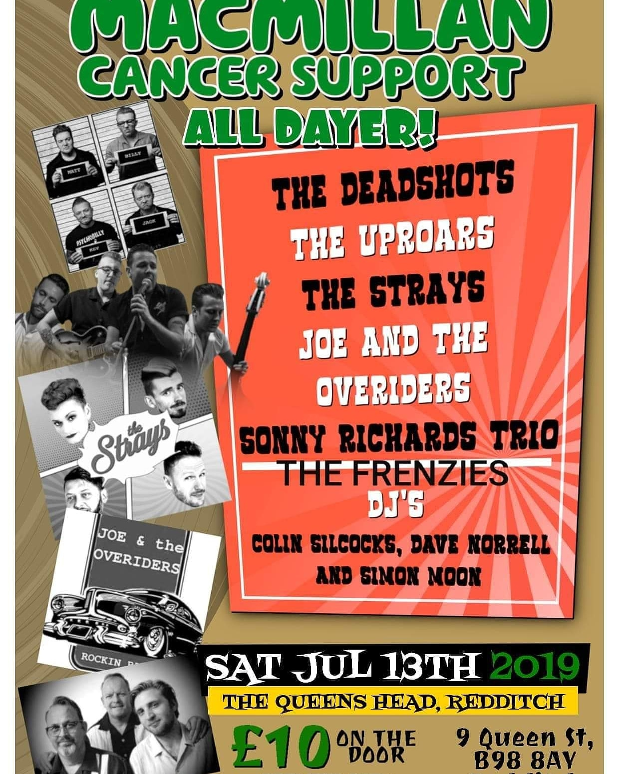 Macmillan cancer care Rock n Roll all dayer