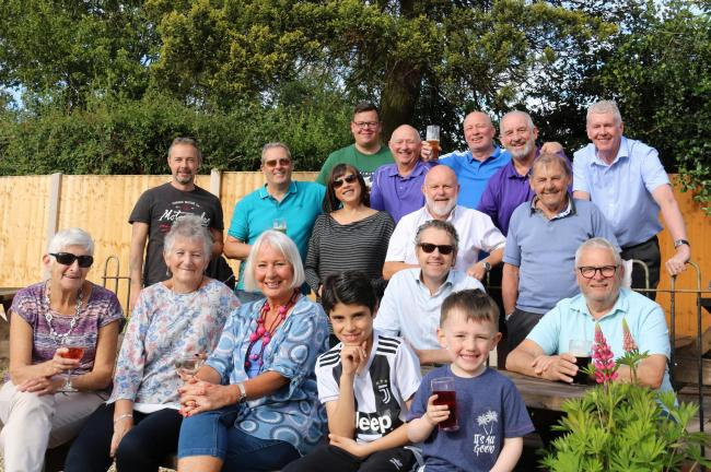 Aston Fields Social Club will showcase its garden makeover at an open day later this month.