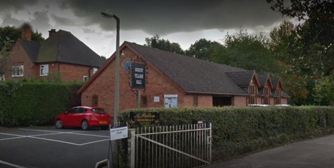Burcot Village Hall will host Bromsgrove Art Society's AGM. Picture: Google Maps.
