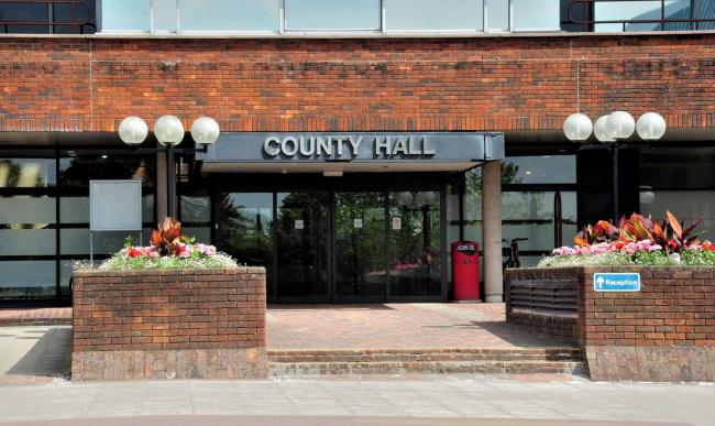 County Hall, Spetchley Road, Worcester