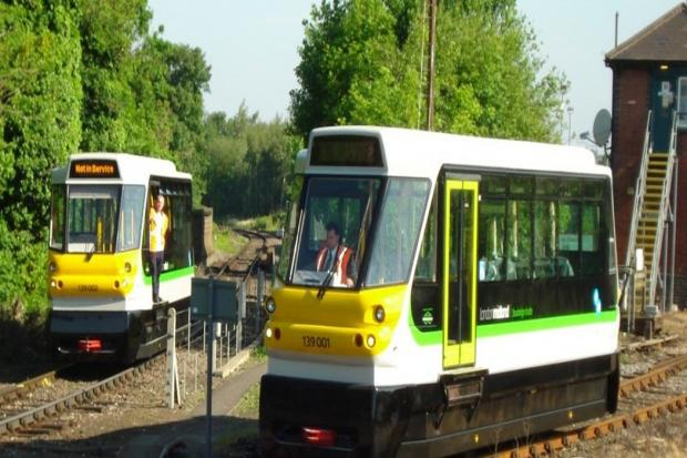ECO: Class 139 Parry People Mover Railcar in operation in Stourbridge for the past 10 years