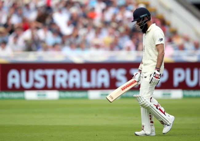 Moeen Ai. Picture: Nick Potts/PA Wire/PA Images
