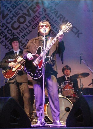 Tribute: Barry Steele as Roy Orbison with The Complete Beatles will be performing at the Palace Theatre in Redditch this week.