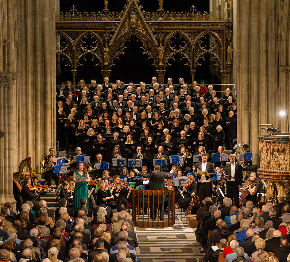 Vaughan Williams: A Sea Symphony - Worcester Festival Choral Society in Worcester Cathedral
