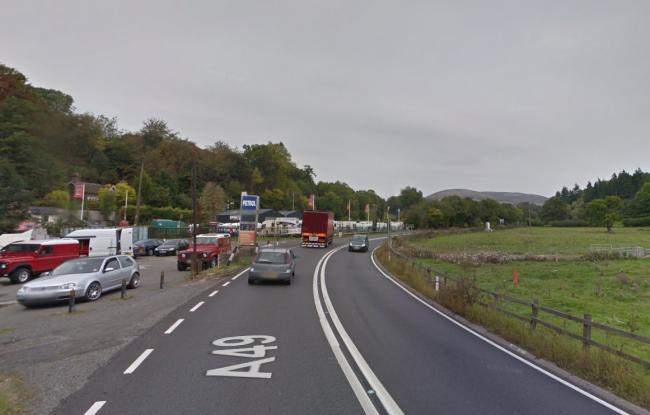 Two people died in a crash on the A49 near Church Stretton on Saturday.