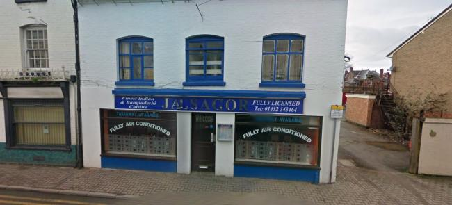 Jalsagor on St Owen St, Hereford, has been given a zero-star hygiene rating. Photo: Google