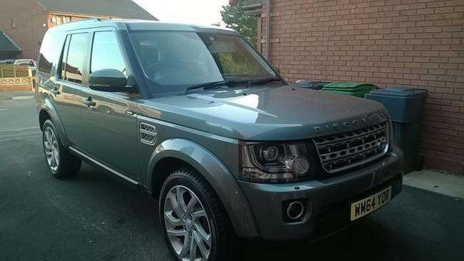 The Land Rover Discovery was stolen from the family's driveway in the early hours of Thursday morning.