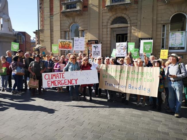 Climate Strike in Kidderminster