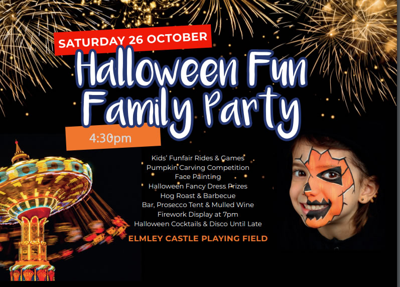 Halloween Family Fun Day & Firework Display