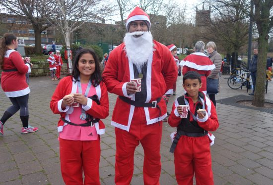 St Richard's Santa Dash
