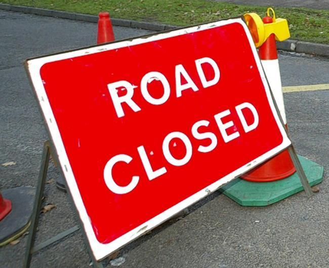 Sections of the A4103 between Hereford and Worcester will be closed for three days.