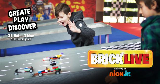 BRICKLIVE returns to Birmingham during the October half-term.