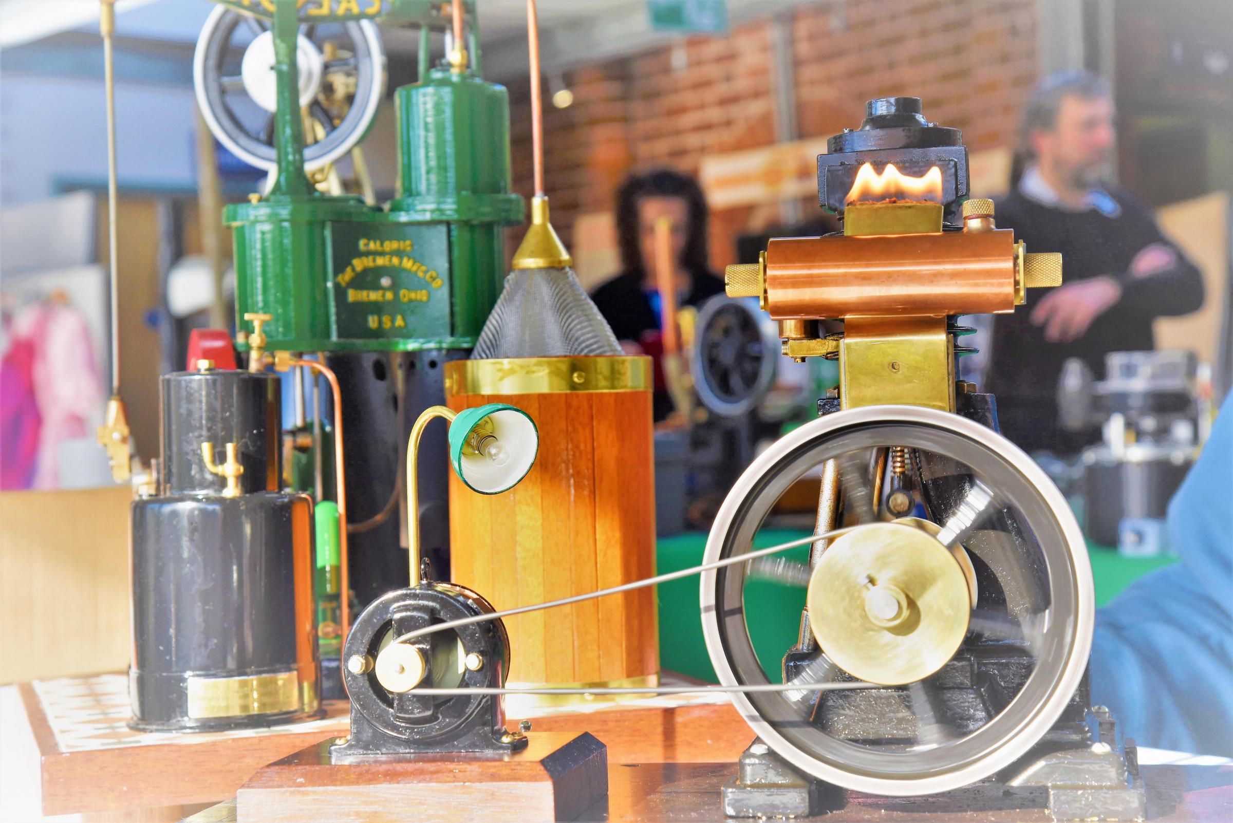 Stirling Engine Rally and Family Open Day