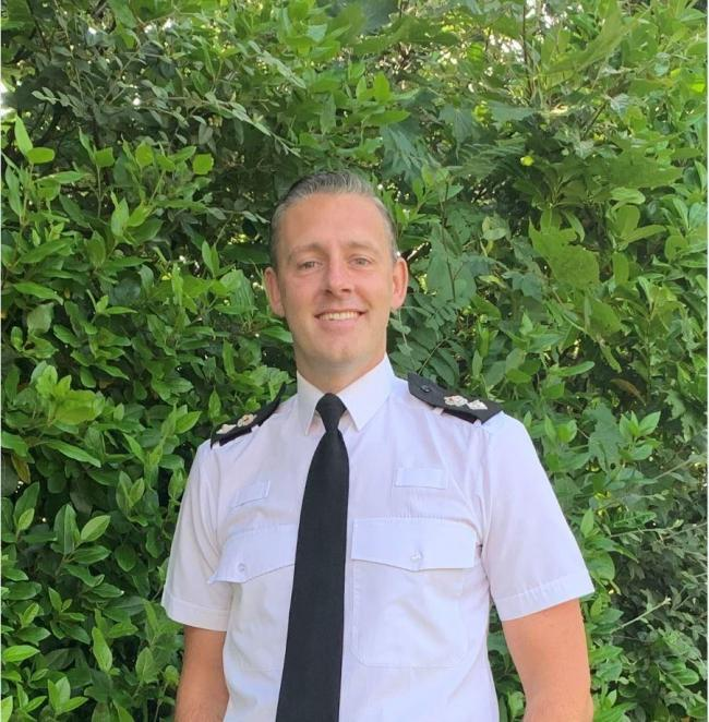West Mercia Police Chief Superintendent Tom Harding