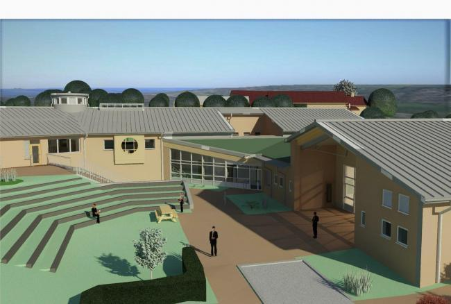The new £6 million school will be sustainable and environmentally friendly say builders