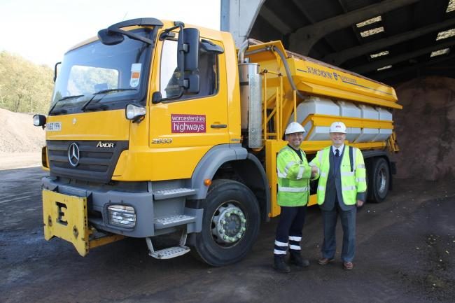 Gritting teams are on standby