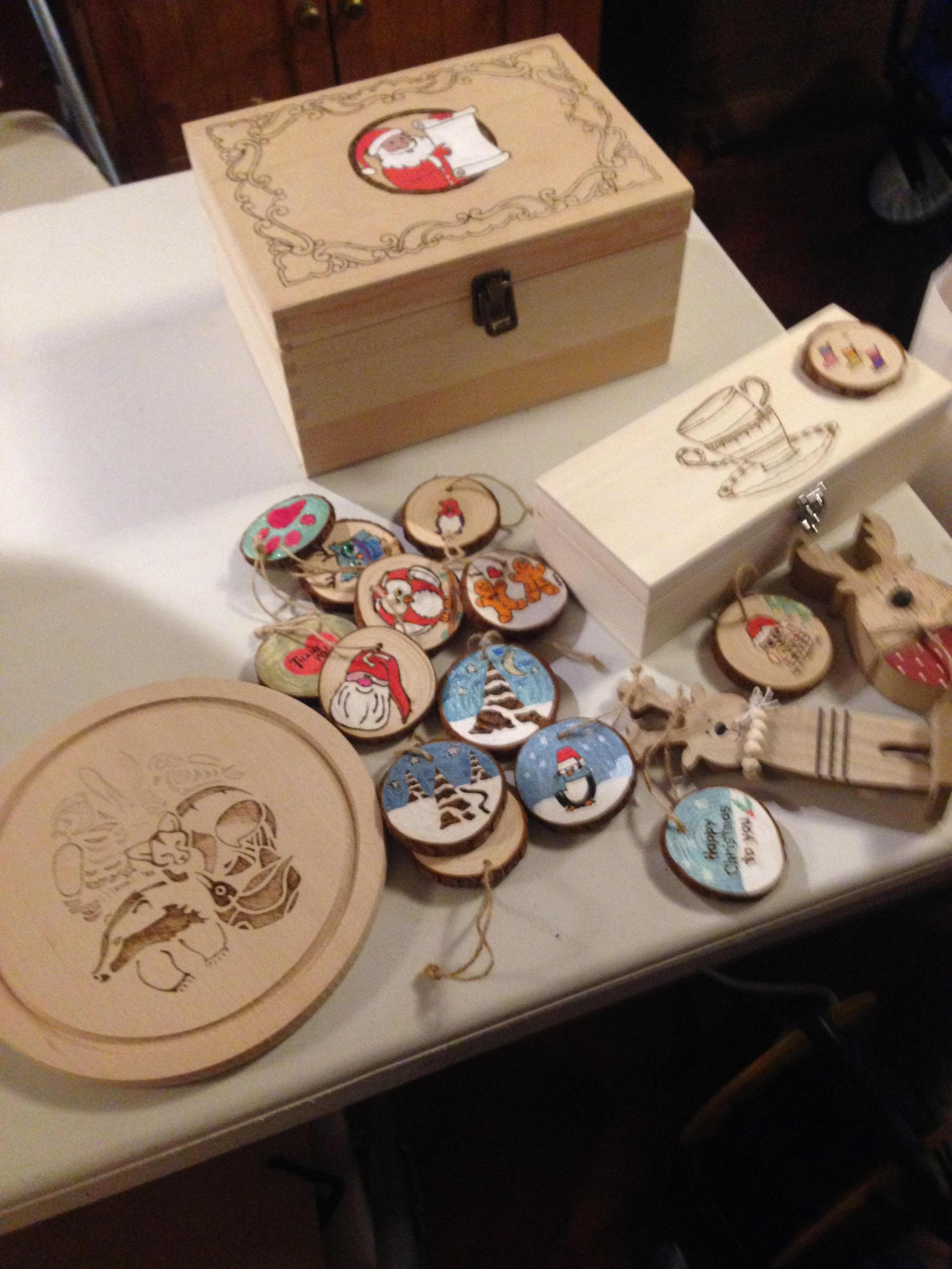 CHRISTMAS PYROGRAPHY WORKSHOP at The Tudor House Museum, Upton-on-Severn