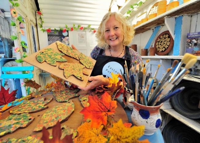 PREPARING: Jo Kennedy at Eastnor Pottery