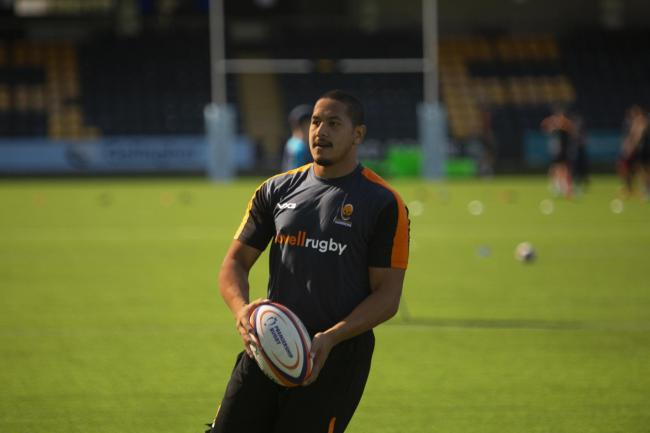 Summer signing Ed Fidow is set to join the squad for the Harlequins trip. Picture: WORCESTER WARRIORS