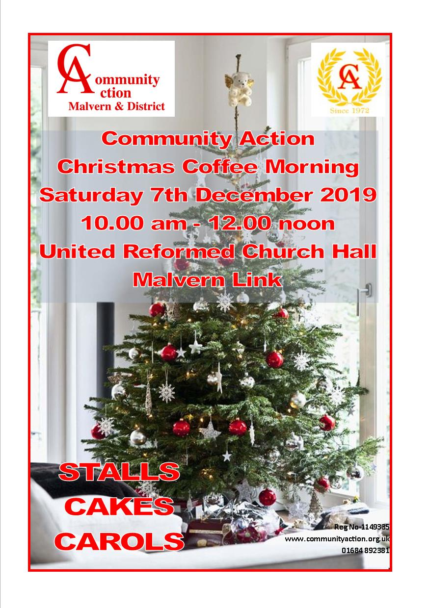 Community Action Christmas Coffee Morning