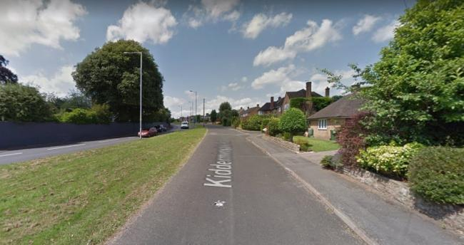 The scammers struck at a house on the part of the busy Kidderminster Road near to Sanders Park. Picture: Google Maps