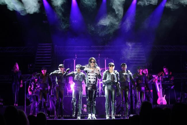 Ben Bowman as Michael Jackson in Michael Starring Ben.