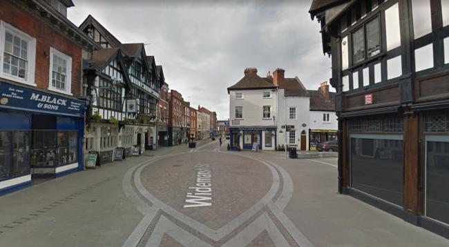 Two men have been arrested after police were called to reports of anti-social behaviour in Hereford this morning. Photo: Google
