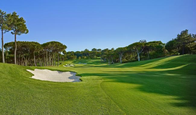 Quinta do Lago's North Course where Hugh Adams will play next week
