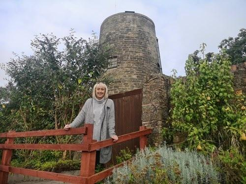 Councillor Karen Shakespeare at Ruiton windmill.