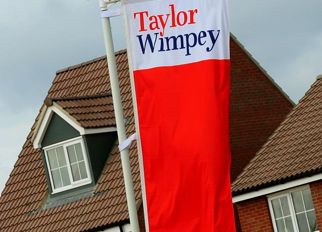 Taylor Wimpey homes. Photo: Rui Vieira/PA Wire.