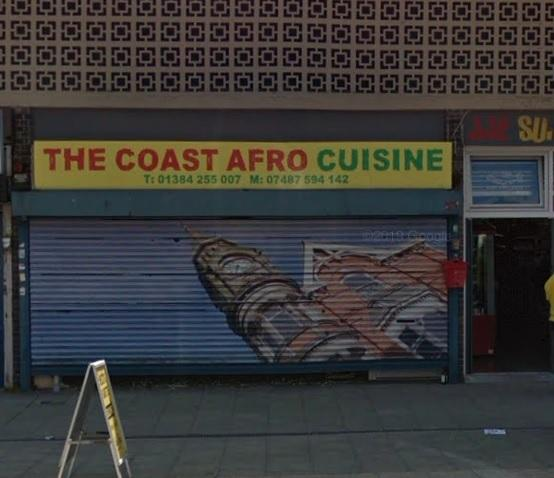 Afro Coast Cuisine on King Street, Dudley. Image: Google Maps.