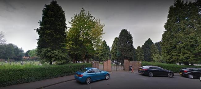 The lack of toilet facilities at Bromsgrove Old Cemetery has come under fire. Picture: Google Maps.