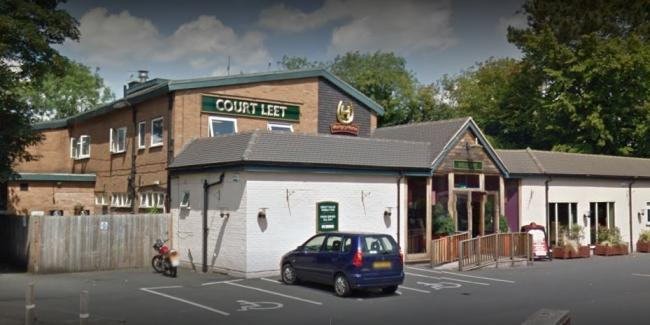 The Court Leet pub was broken into in the early hours of last Tuesday morning (November 19). Picture: Google Maps.