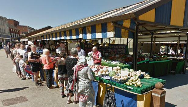 Dudley Market. Pic - Google Street View