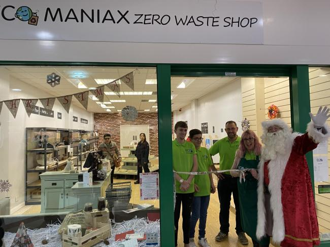 Eco Maniax opened in the Ryemarket shopping centre on November 30