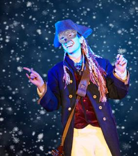 The Snow Dancer will be performed at Fairfield Village Hall on Saturday, December 14.