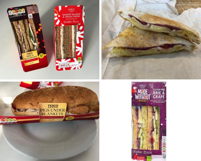 How unhealthy is YOUR Christmas sandwich? The lunches with more calories than a Big Mac