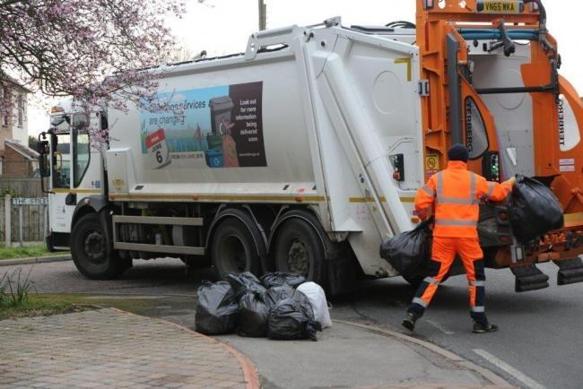 Sandwell Council has suspended food waste collections