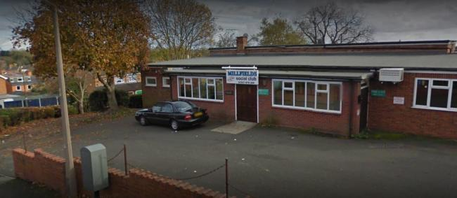 Millfield Social Club, where masked robbers stole cash from frightened staff on Sunday (January 5). Picture: Google Maps.