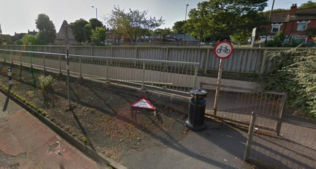 Issues with lighting in the subway between Gannow Road and Whetty Lane are to finally be resolved. Picture: Google Maps.