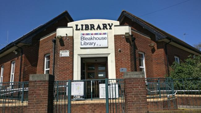 Pic: Bleakhouse Library