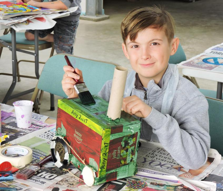 Junk Modelling - Half Term Fun at the Waterworks Museum