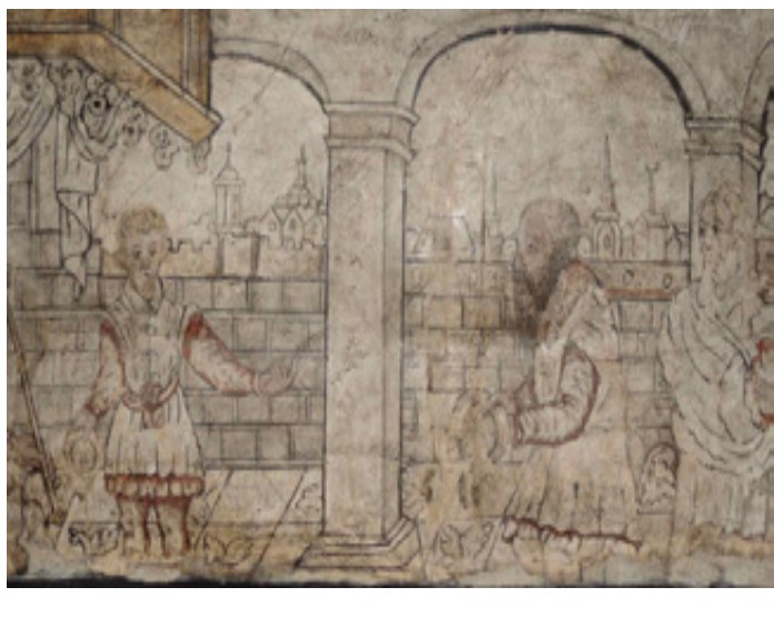 Wall paintings in 17th century English houses, with Stephen Rickerby and Lisa Shekede