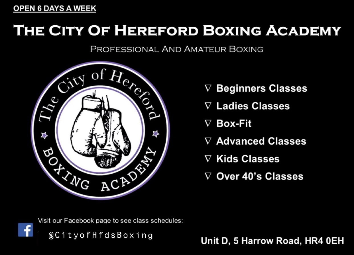 The City of Hereford Boxing Academy - OPEN DAY