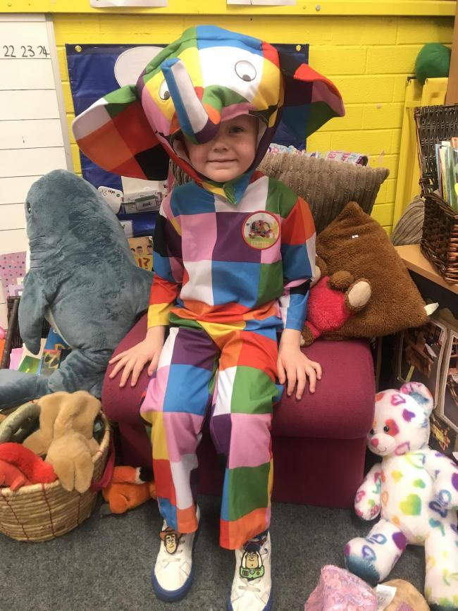 At Wolverley Sebright Primary Academy pupils have come dressed as book characters ready for today's celebration of books. This afternoon all the pupils will snuggle down to read their favourite story or will listen to another pupil read from a selection of stories.