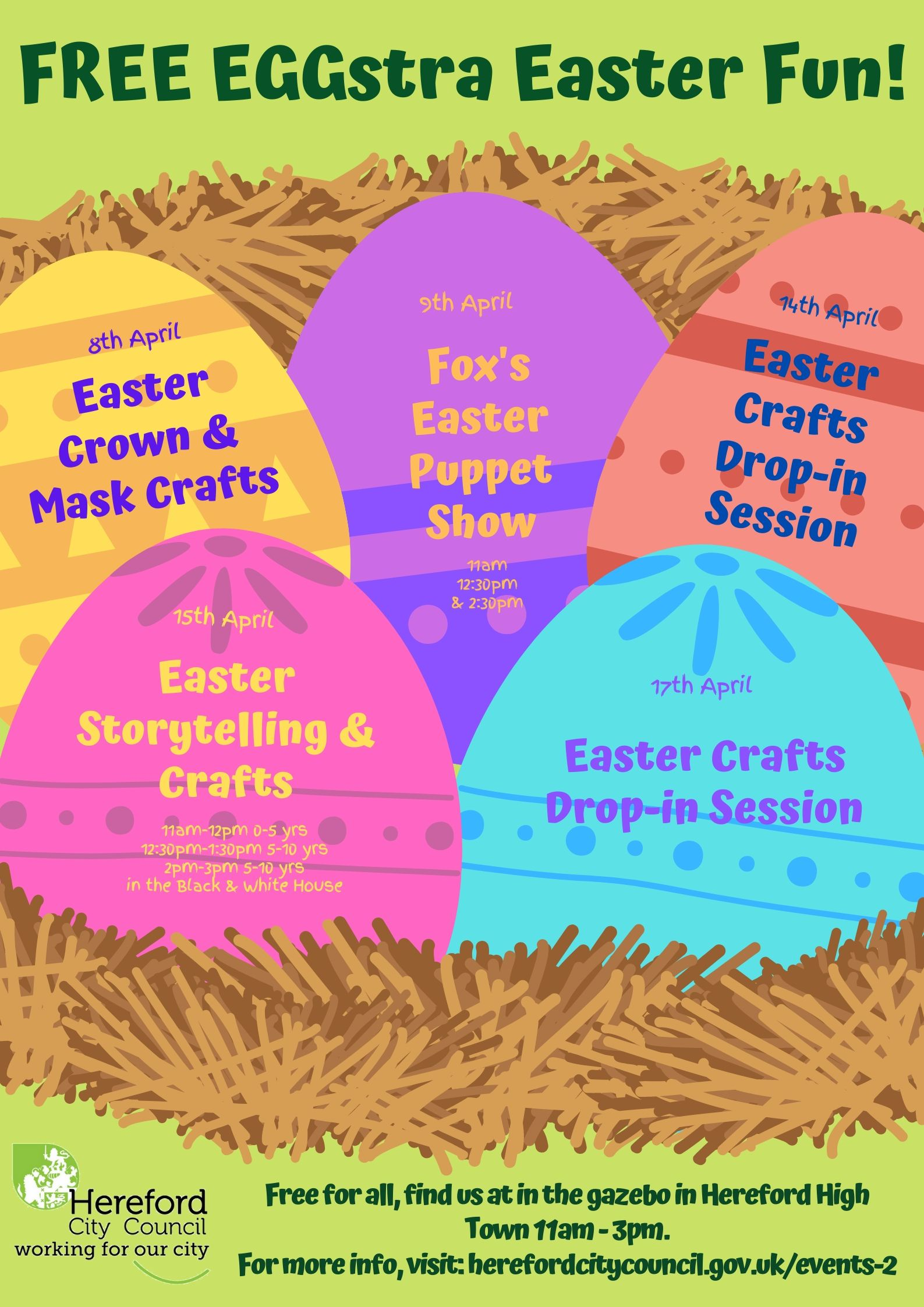 EGGstra Easter Fun: Easter Crown & Mask Crafts