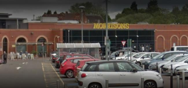 Emma Stoten stole almost £1,500 worth of make-up from Morrisons in Kidderminster. Picture: Google Maps.