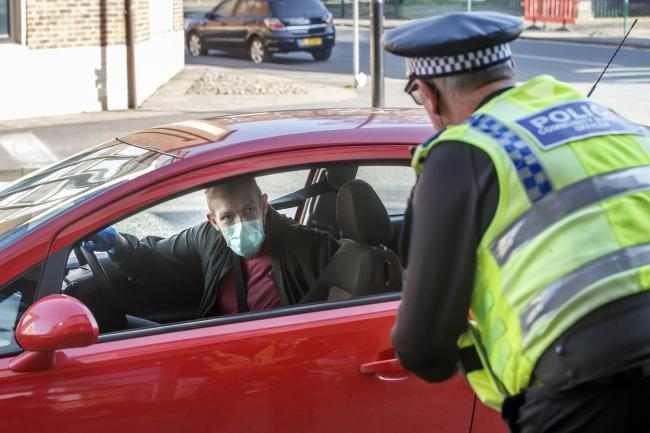West Mercia Police says officers will be carrying out random checks on drivers to ensure their journey abides by coronavirus lockdown laws. Photo by PA