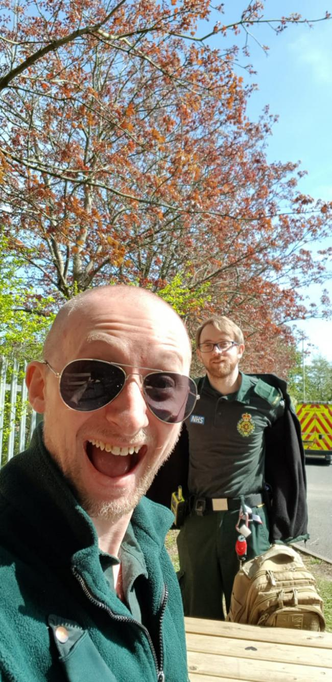 Aaron Chawro and Sam Worrall - West Midlands Ambulance Service